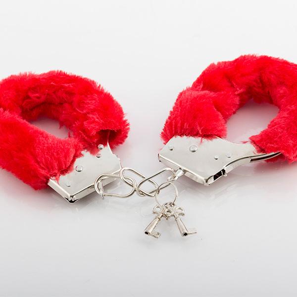 Manette Erotiche Colore:Rosso H1500107