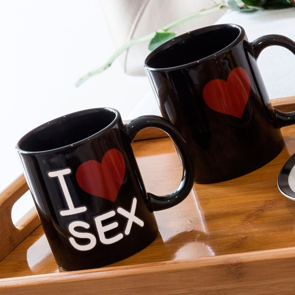 I Love Sex Varázsbögre