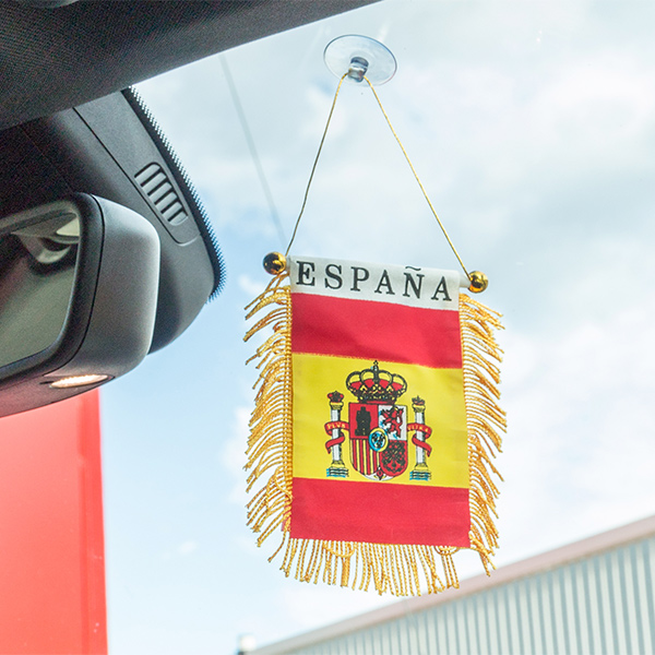 Spanyol Jelzőlobogó Tapadókoronggal