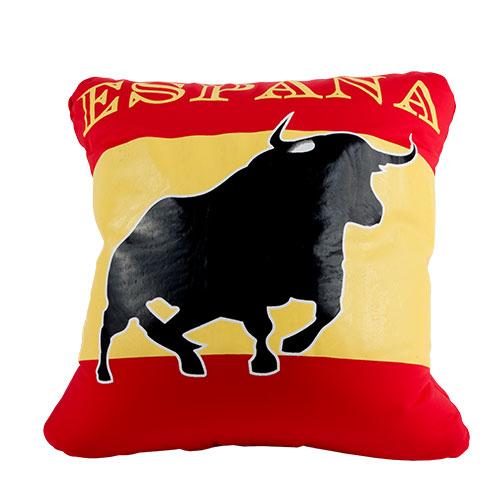 Cojin Toro con Bandera de España (30 x 30 cm) H2500170