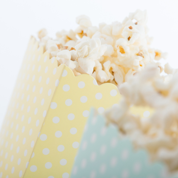Pöttyös Popcornos Vödör (10 db-os csomag)