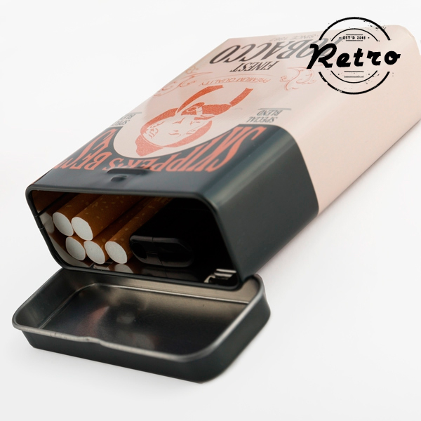 Retro Kovinska Cigaretnica