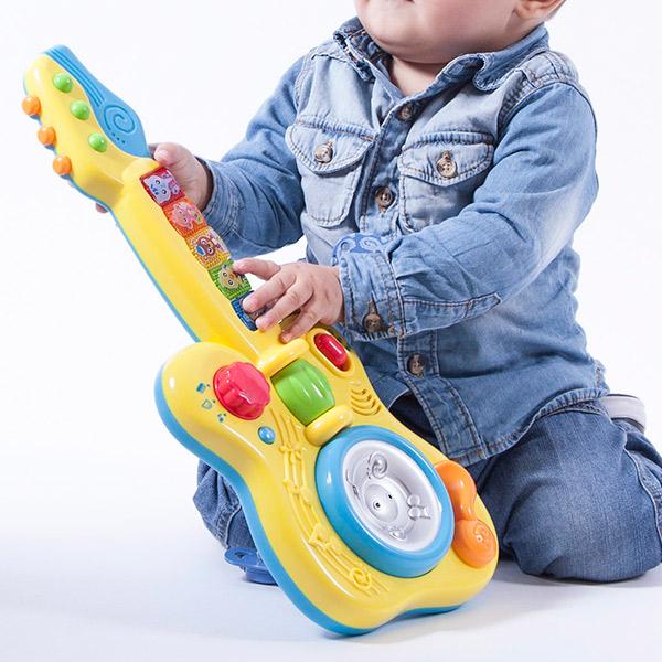Otroška kitara s svetlobnimi in zvočnimi učinki