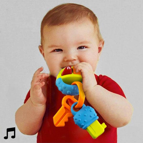 Žvečilo Ropotuljica za Dojenčke z Zvoki