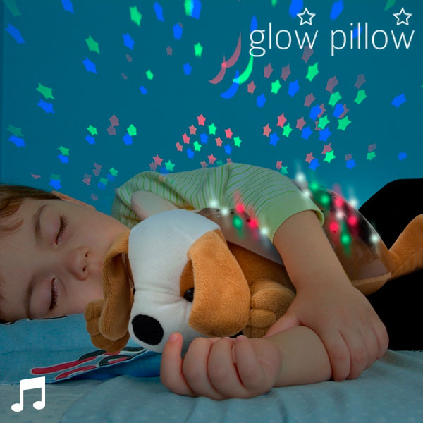 Kužek Glow Pillow LED Projektor z Zvokom