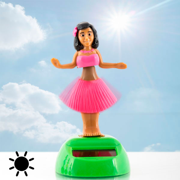 Solarna Havajska Plesalka