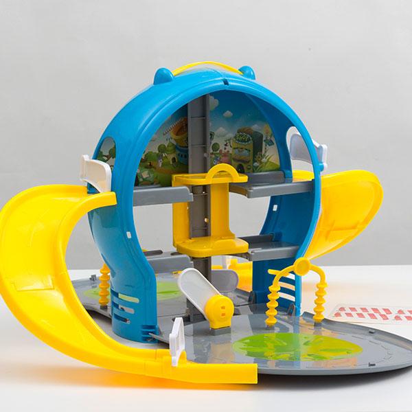 Parkirna Hiša za Otroke s Škatlo