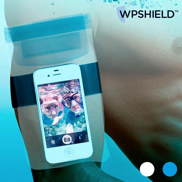 Vodotesna Torbica za Mobilni Telefon WpShield - Modra