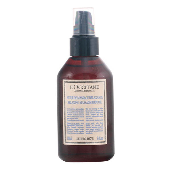 L´occitane - AROMACHOLOGY huile de massage relaxante 100 ml