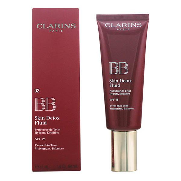 Clarins - BB SKIN DETOX fluid SPF25 02-medium 45 ml 3380810016741  02_S0503474