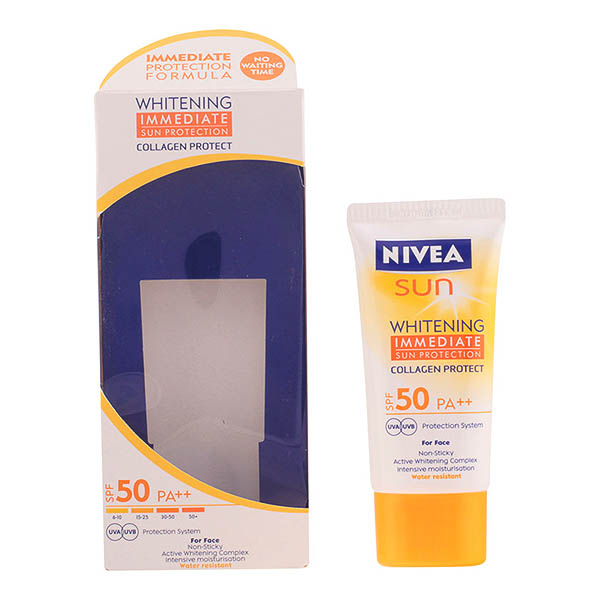 Nivea - SUN WHITENING  protection face lotion SPF50  50 ml