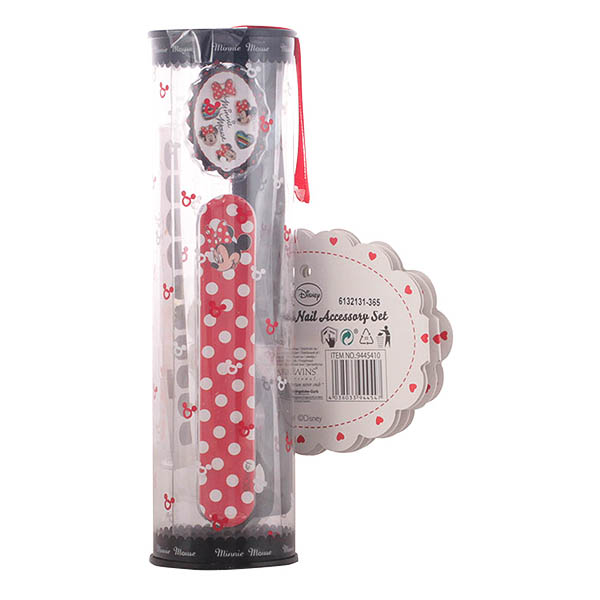Minnie Mouse - MINNIE-MANI NAIL ACCESSORY SET 4 pz
