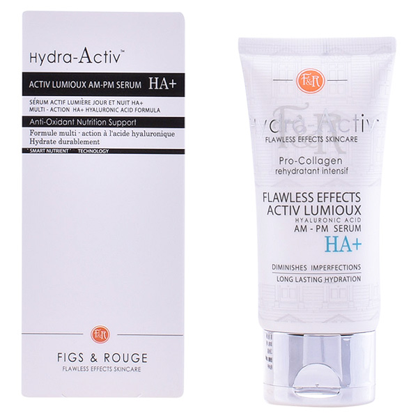 Figs & Rouge - HYDRA-ACTIV activ lumioux serum HA+ 50ml