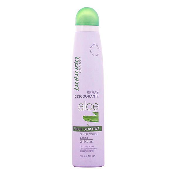 Babaria - ALOE VERA fresh sensitive deo vaporizador 200 ml
