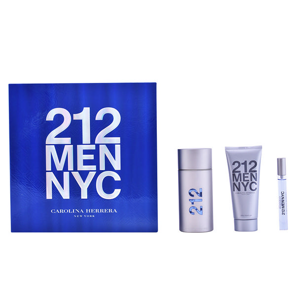 Carolina Herrera - 212 MEN SET 3 Pcs.