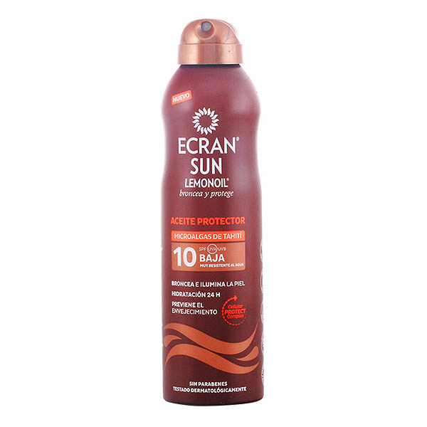 Ecran - ECRAN SUN LEMONOIL oil spray SPF10 250 ml (1)