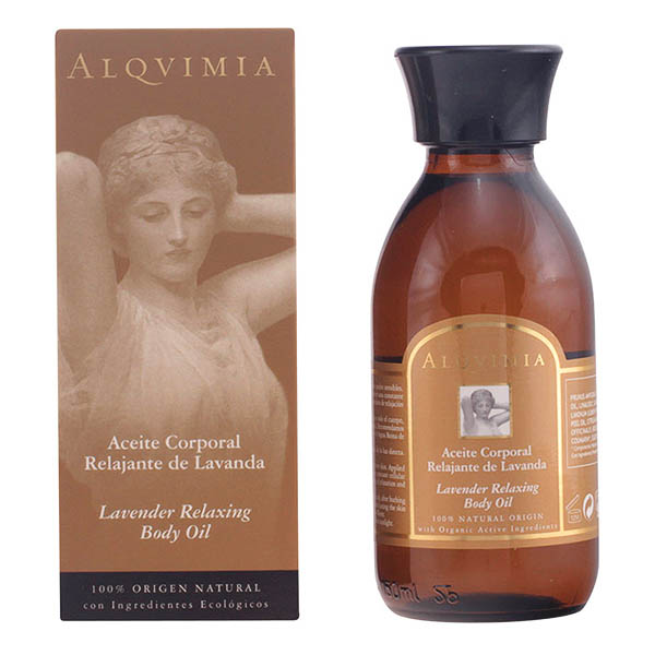 Alqvimia - BODY OIL lavender relaxing 150 ml