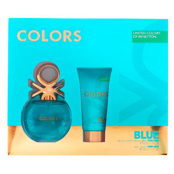 Benetton - COLORS BLUE LOTE 2 pz