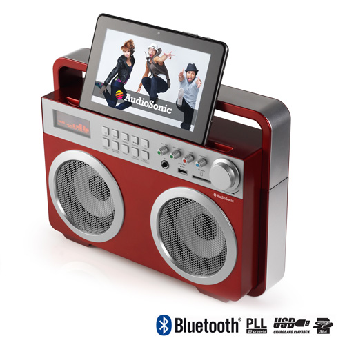 Radio Retro MP3 Bluetooth AudioSonic RD1558 I3510132