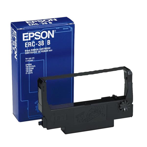 Originalen trak za iglične tiskalnike Epson C43S015374 Črna