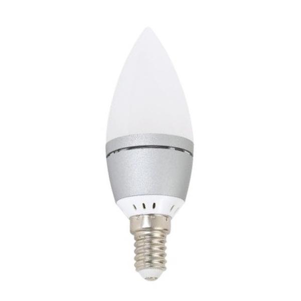 Gyertya Izzó Omega E14 4W 300 lm 2800 K Meleg fény