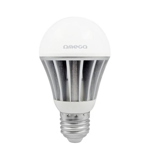 Gömbölyű LED Izzó Omega E27 15W 1300 lm 6000 K Fehér fény