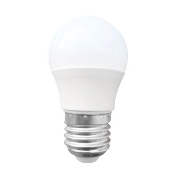 Gömbölyű LED Izzó Omega E27 3W 240 lm 6000 K Fehér fény