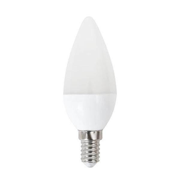 LED Gyertya Izzó Omega E14 4W 320 lm 6000 K Fehér fény