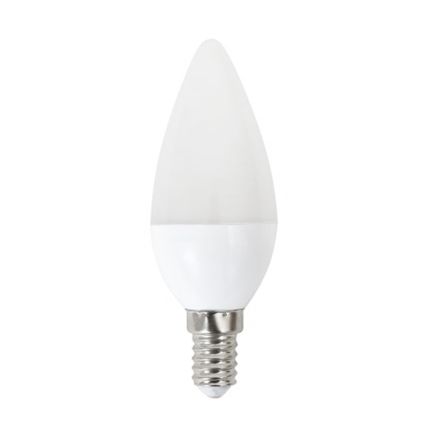 LED Gyertya Izzó Omega E14 5W 400 lm 2800 K Meleg fény