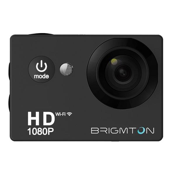Brigmton Športna kamera HD 1080p 170? 30FPS Črna
