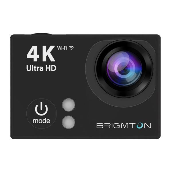Brigmton Športna kamera HD 4K 170? 25FPS Črna