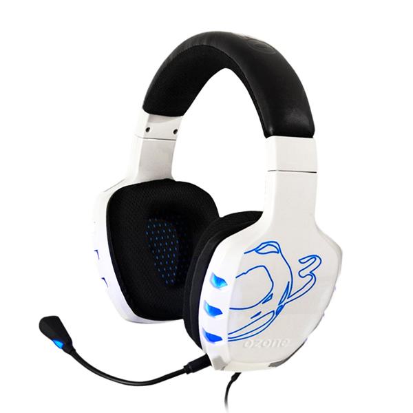 OZONE Slušalke Gaming Rage 7HX 7.1 USB Bele