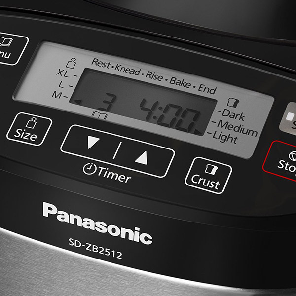 Kenyérsütő Panasonic SD-ZB2512KXE 550W Ezüst színű