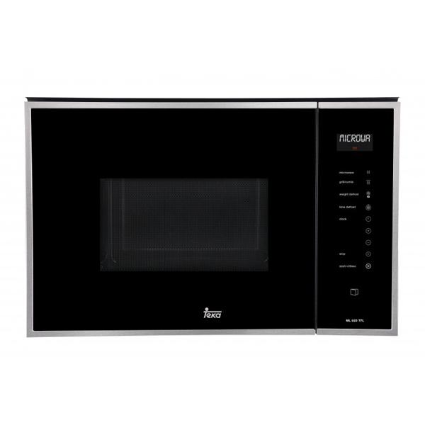 Built-in microwave with grill Teka 900W 25L Inox Acél Rozsdamentes acél