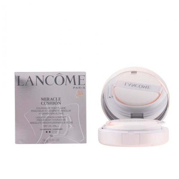 Lancome - MIRACLE CUSHION fluide SPF23 03-beige pêche 14 gr
