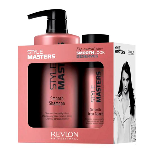 Revlon - STYLE MASTERS SMOOTH LOTE 2 pz