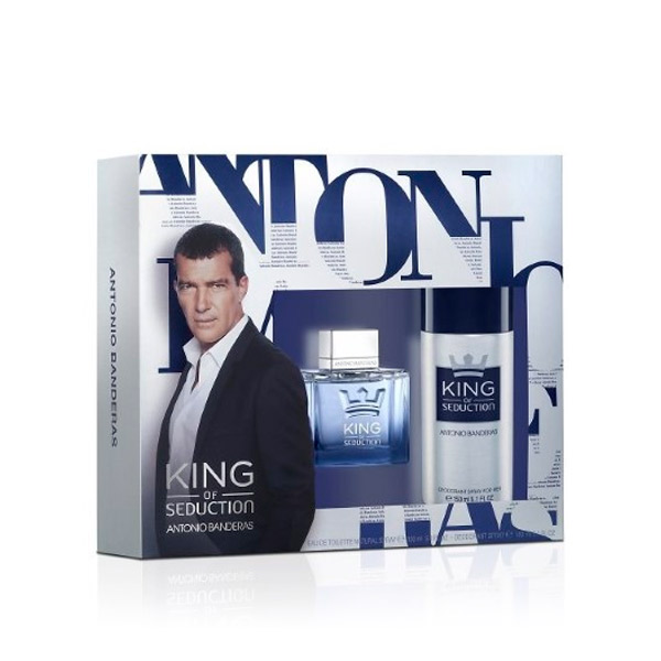 Antonio Banderas - KING OF SEDUCTION LOTE 2 pz
