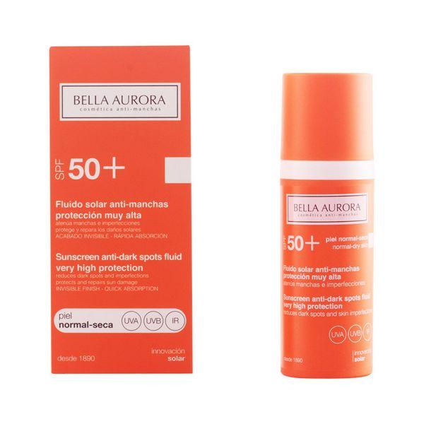 Tekočina za sončenje proti madežem Spf +50 Bella Aurora 3076