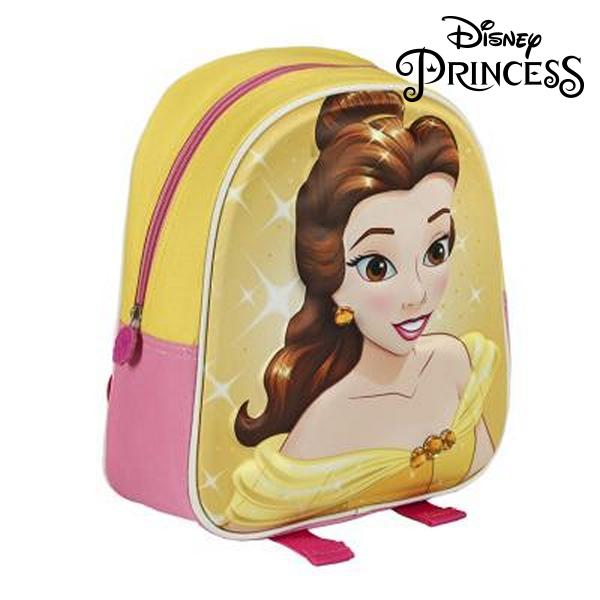 Mochila Escolar 3D Princesses Disney 507