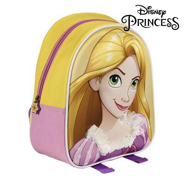 Mochila Escolar 3D Princesses Disney 514