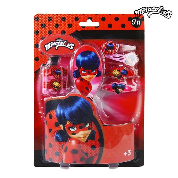 Frizura kiegészítő Lady Bug (9 pcs)
