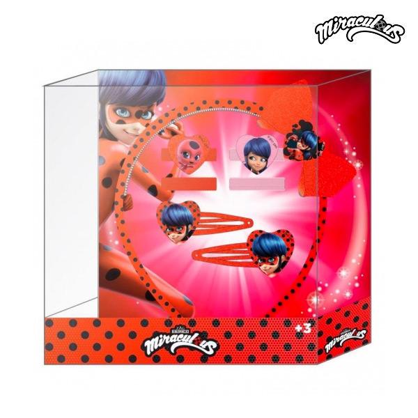 Frizura kiegészítő Lady Bug (5 pcs)