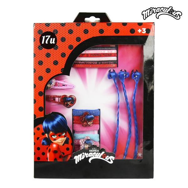 Frizura kiegészítő Lady Bug (17 pcs)