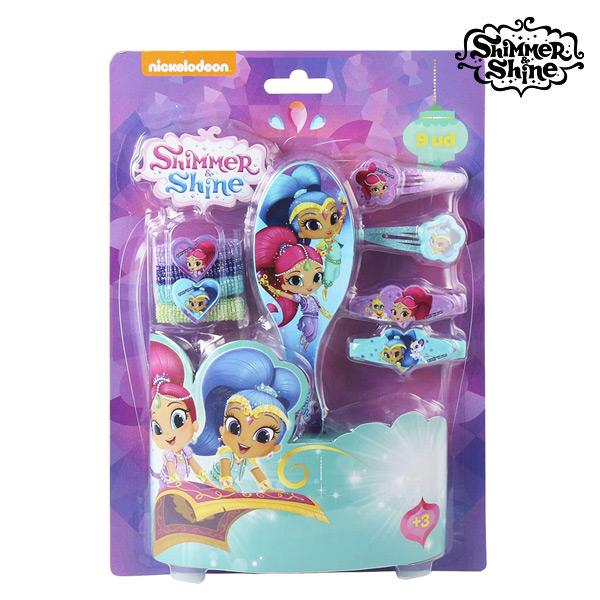Frizura kiegészítő Shimmer and Shine (9 pcs)