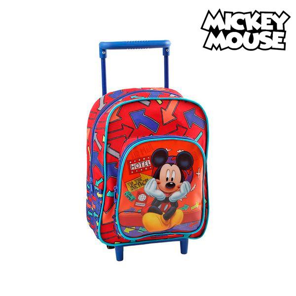 Iskolatáska Kerekekkel Mickey Mouse 1834