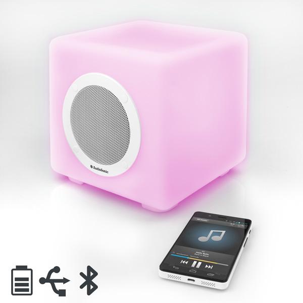 Altoparlante Bluetooth con Luci LED AudioSonic SK1539  7569000764853  02_I3505246