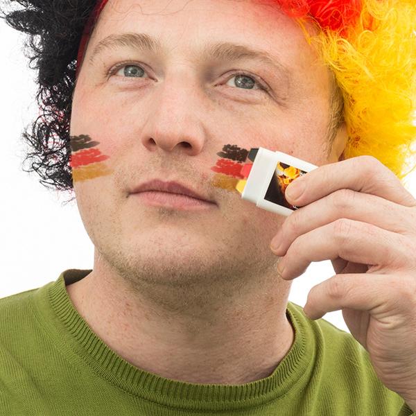 Német Zászló Arcfesték