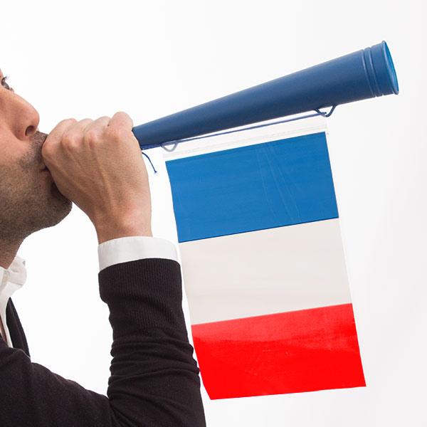 Francia Zászló Drukkolókürt