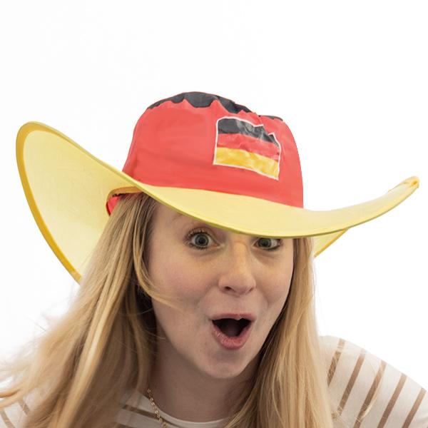 Német Zászló Összehajtható Kalap