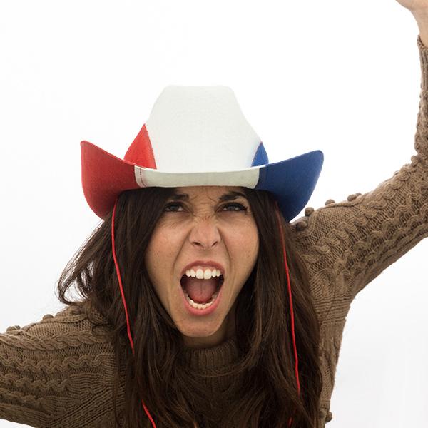 Francia Zászló Cowboy Kalap